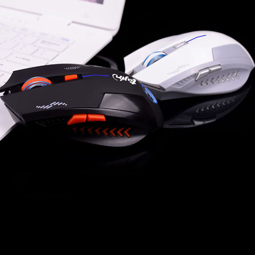 2.4GHz Wireless 6D Rechargeable Optical Gaming Mouse
