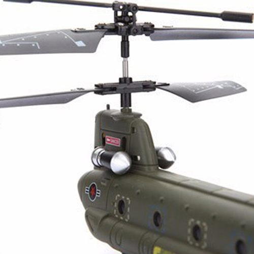 3.5CH Infrared Mini Chinook Remote Control RC Helicopter Gyro