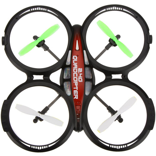 4CH 2.4GHz 6-Axis Gyro RTF UFO Helicopter Drone
