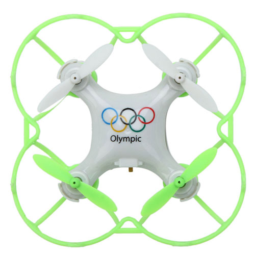 2.4G 4CH 6-Axis Olympic Rings Mini RC Drone Quadrocopter