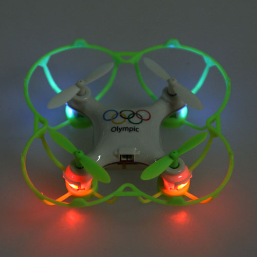 2.4G 4CH 6-Axis Olympic Rings Mini RC Drone Quadrocopter Image 2