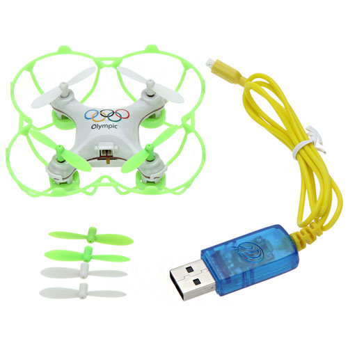 2.4G 4CH 6-Axis Olympic Rings Mini RC Drone Quadrocopter Image 3