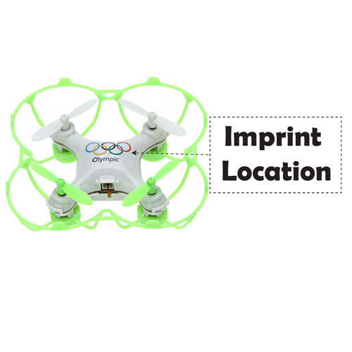 2.4G 4CH 6-Axis Olympic Rings Mini RC Drone Quadrocopter Imprint Image
