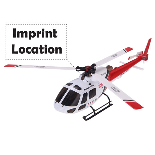 6CH Flybarless 3/6 Axis Gyro 3 Blade AS350 Scale RC Helicopter