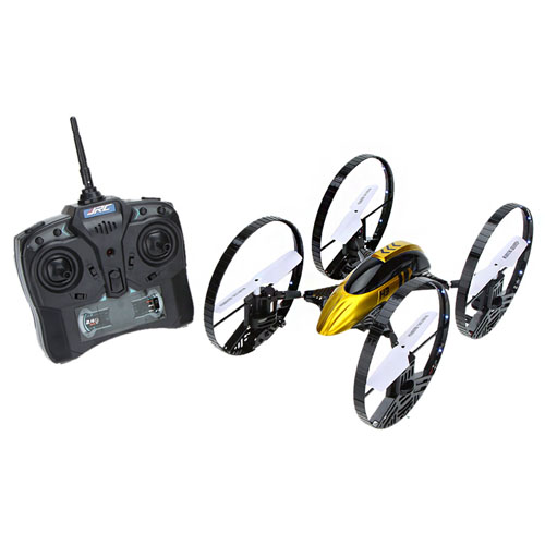 2.4G Gyro Air-ground Amphibious RC Quadcopter