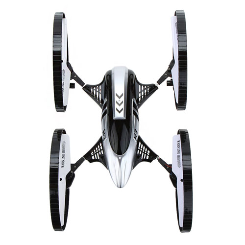 2.4G Gyro Air-ground Amphibious RC Quadcopter Image 3