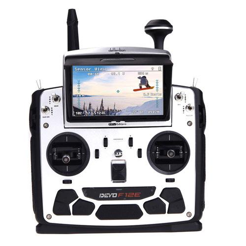 DEVO F12E RC Transmitter Auto-Pilot Quadcopter Image 4