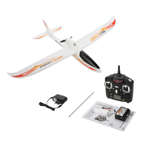 2.4G 3CH Radio Control RC Airplane Image 4