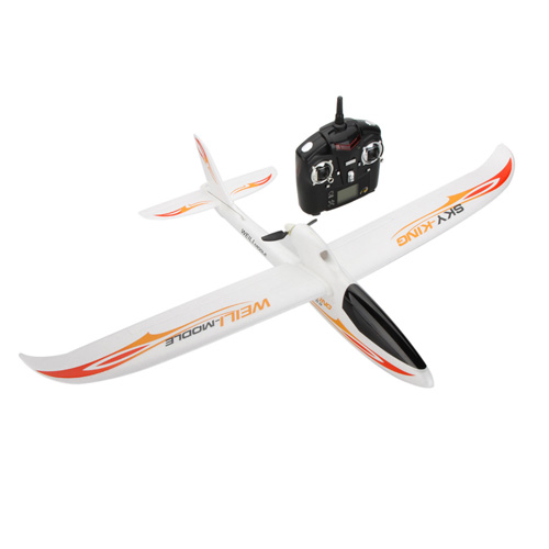 2.4G 3CH Radio Control RC Airplane Image 5
