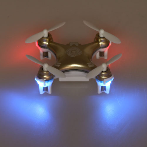 2.4G CX10A Gyro Mini Drone RC Quadcopter Image 2