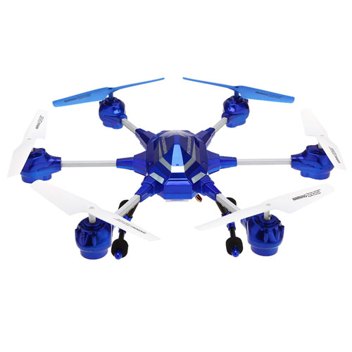 2.4G Six Axis Gyro RC Super Alloy Hexacopter