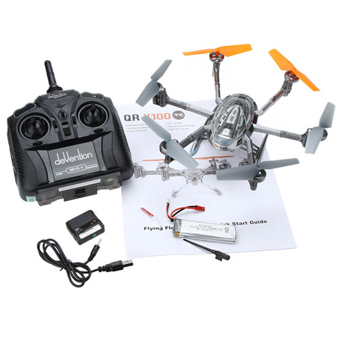DEVO 4 Wifi IOS/Android Drone RC Quadcopter