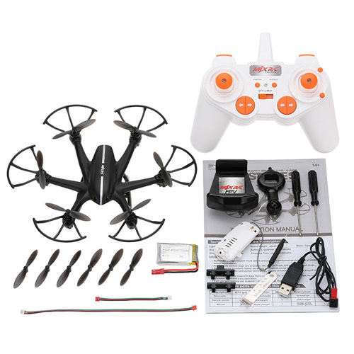 2.4G 6 Axis 3D Roll Gravity RC Hexacopter