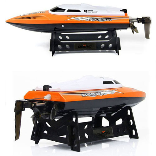 2.4GHz 4CH Water Cooling High Speed RC Boat Image 4