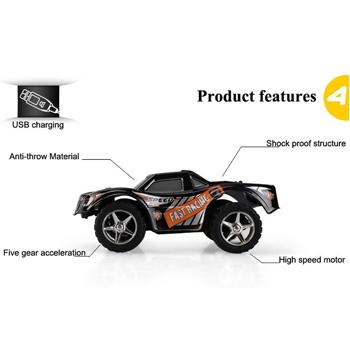 2.4G 5CH RC High Speed Car Toys
