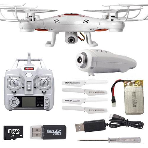 2.4G Headless Mode VS X5C-1Camera quadrocopter