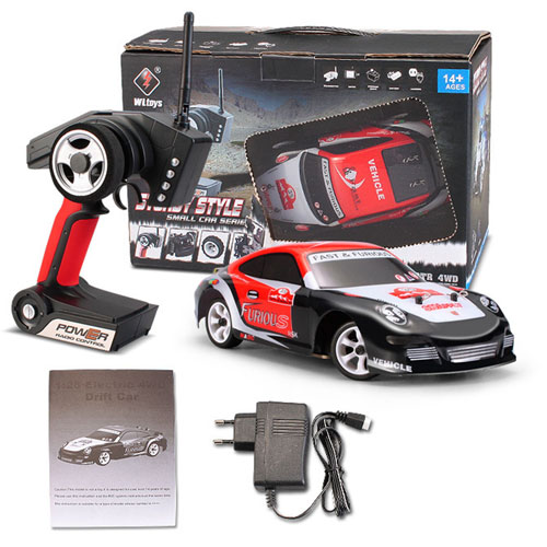 2.4 G 4WD Cepillado RC Drift Car
