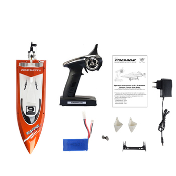 2.4G 4CH Water Cooling High Speed Racing RC Boat