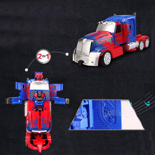 Deformation Robots Kids Model Toys RC Cars