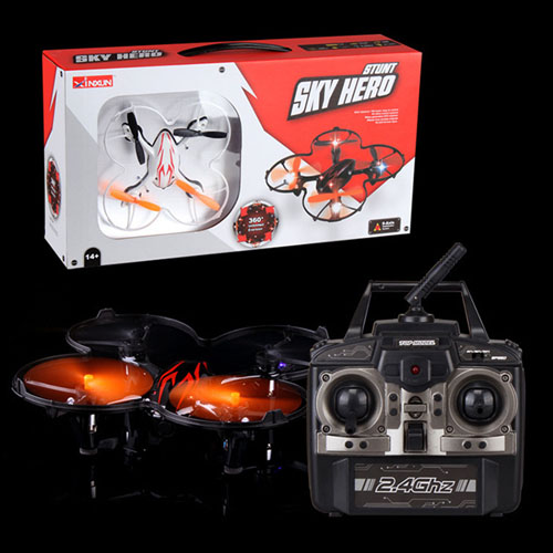 4CH 6-Axis 0.3M Pixels HD Gyro Camera RC Helicopter
