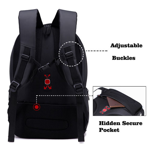 Hot Selling Nylon Waterproof Laptop Bag Image 3