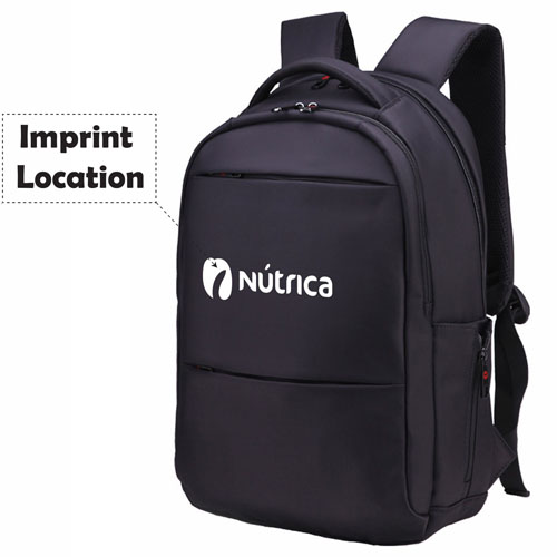 Hot Selling Nylon Waterproof Laptop Bag Imprint Image