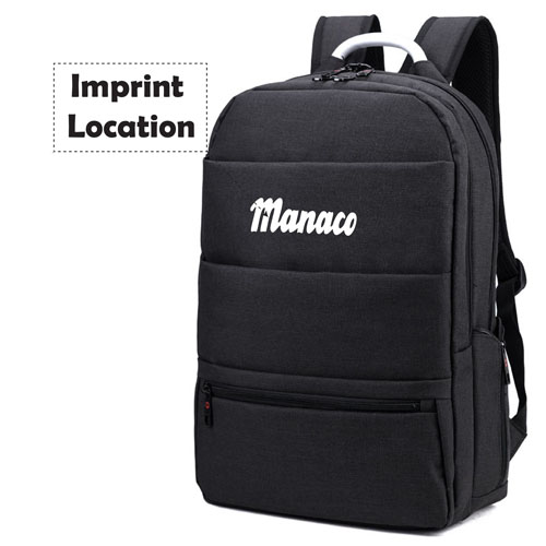 New Mochila Casual Cotton Laptop Backpack Imprint Image