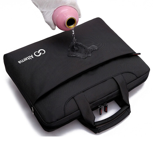 Nylon Waterproof Laptop Shoulder Bag Image 1