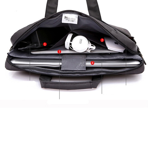 Nylon Waterproof Laptop Shoulder Bag Image 3