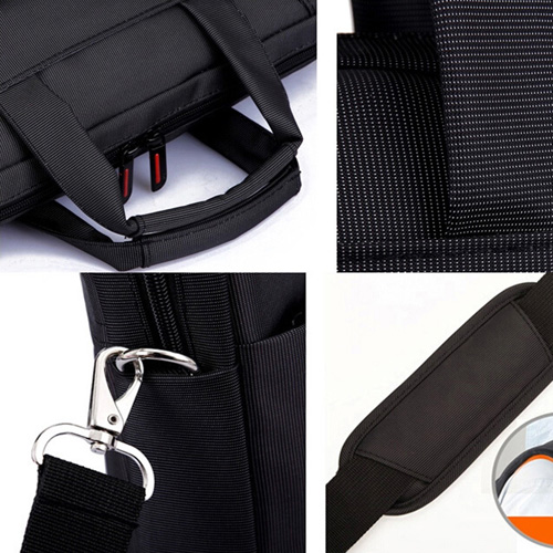 Nylon Waterproof Laptop Shoulder Bag Image 4