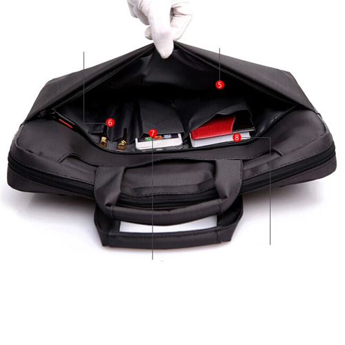 Nylon Waterproof Laptop Shoulder Bag Image 5