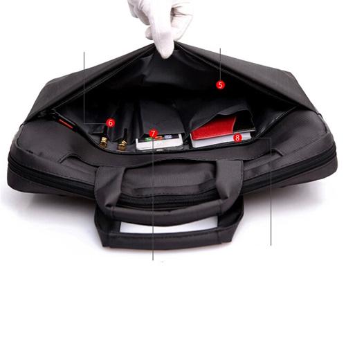 Nylon Waterproof Laptop Shoulder Bag Image 5