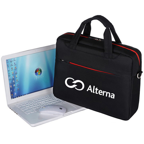 Waterproof Laptop Shoulder Briefcase Image 2
