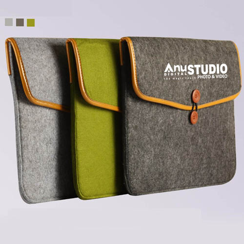 Durable Felt Laptop Sleeve