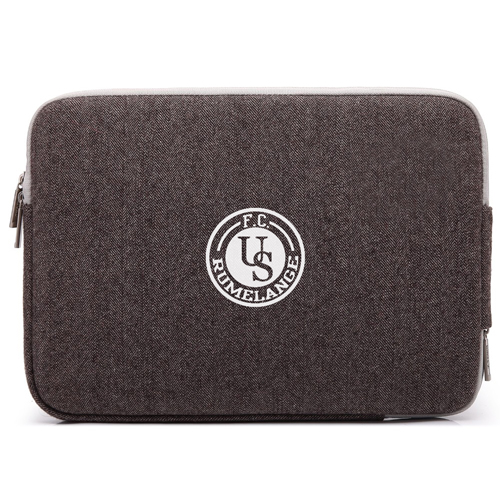 Double Zipper Canvas Laptop Sleeve