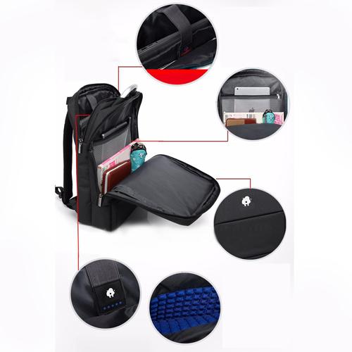 New Style Nylon Travel Laptop Backpack Image 5
