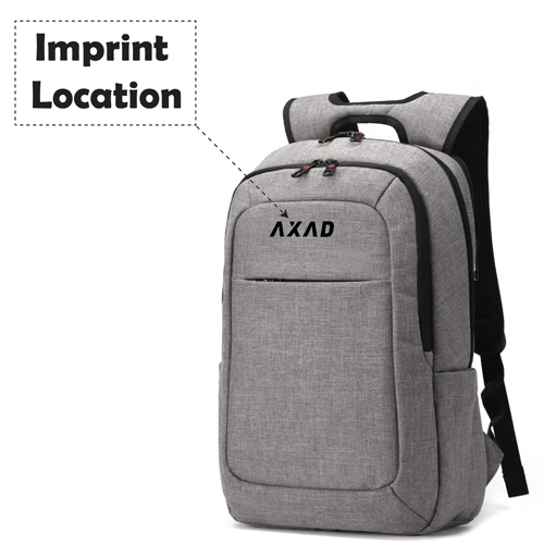 Designer Laptop Backpack Imprint Image