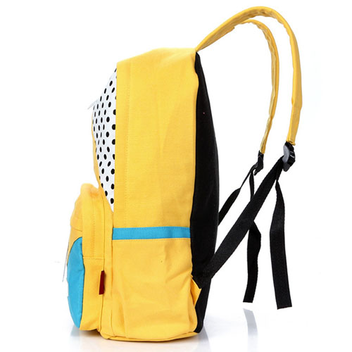New Preppy Outdoor Canvas Backpack