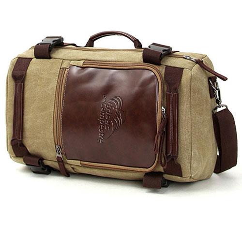 Multi-Purpose Casual Canvas Shoulder Backpack