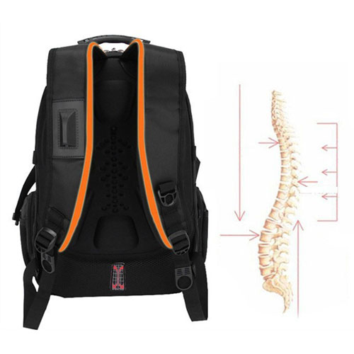 Brand New Polyester Swiss Travel Backpack
