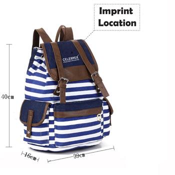 Striped Women Shoulder Bag