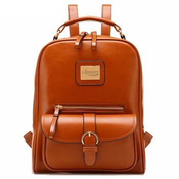 Mochila Fashion Designer Leather Backpack