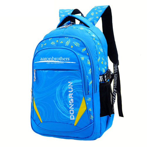 Durable Waterproof Double Shoulder School Bag
