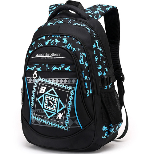 New Mochila Children Zipper Nylon Backpack