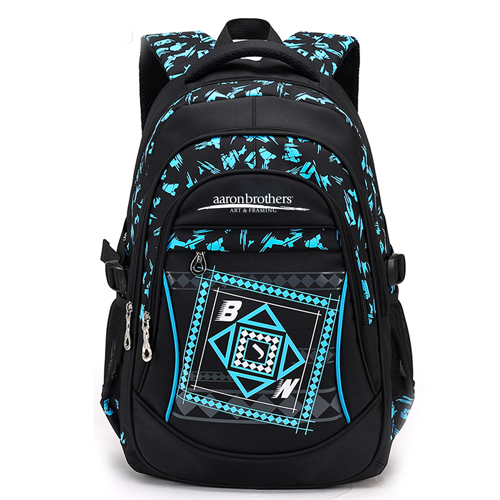 New Mochila Children Zipper Nylon Backpack Image 1