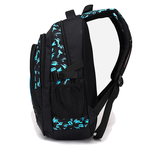 New Mochila Children Zipper Nylon Backpack Image 2
