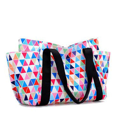 Women Messenger Geometric Handbags Image 3