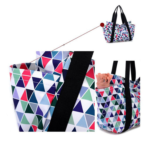Women Messenger Geometric Handbags Image 4