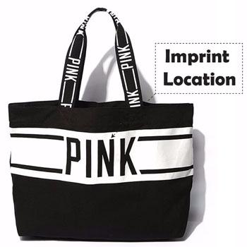 Eco-friendly Girl Shoulder love Pink Bag