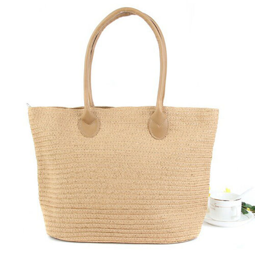 Woven One Shoulder Casual Beach Bags